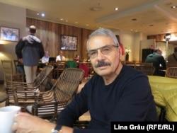Victor Eskenasy (1950 - 2019), istoric și redactor la Radio Europa Liberă, octombrie 2019