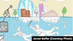 Cavad Qaffarın karikaturası