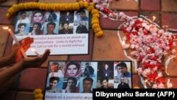 آرشیف، خبرنگارانیکه در اثر دو حمله انتحاری بتاریخ ۱۰ ثور ۱۳۹۷ در کابل کشته شدند.