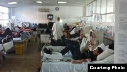 Reparti i hemo-dializës në Qendrën Klinike Universitare të Kosovës