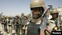 U.S. forces are supposed to withdraw from Iraq by the end of this year.