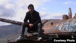 Кабулдун жанындагы талкаланган советтик танк