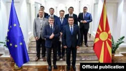 Средба на претседателот на Владата на Република Северна Македонија, Зоран Заев и претседателот на Европскиот Парламент, Давид-Мариа Сасоли