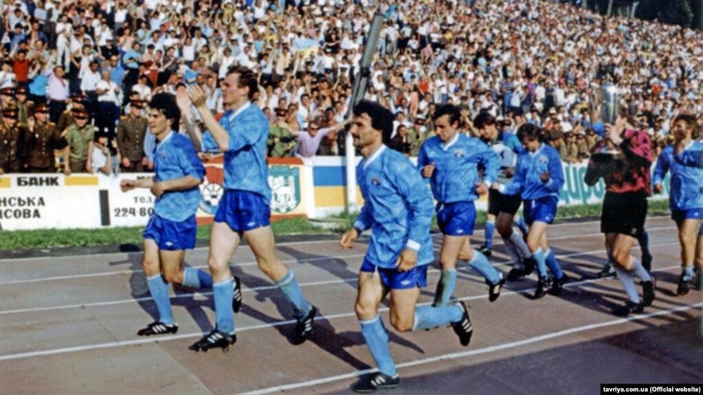 Возрожденный крымский клуб «Таврия» готовится к 60-летнему юбилею