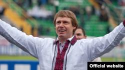 Главный тренер грозненкого клуба «Ахмат» Олег Кононов.