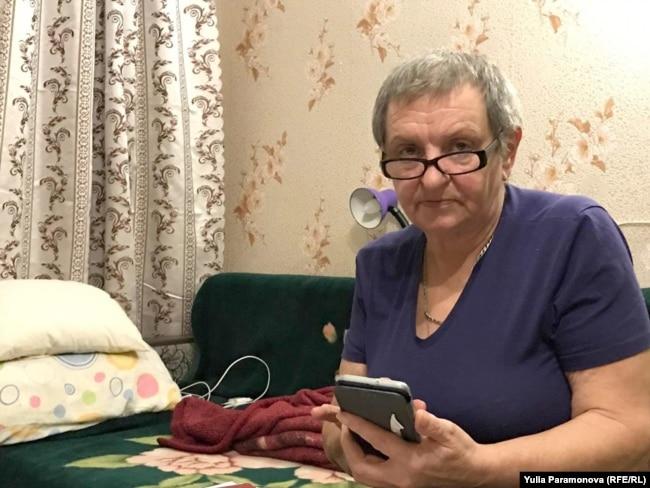 Людмила Журавлева, мать моряка