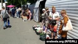Гандаль каля Прывакзальнага рынку