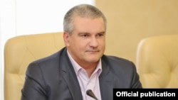 Російський глава Криму Сергій Аксьонов
