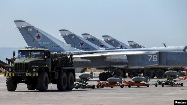 Suriyada Rusiyanın ixtiyarında olan Hmeymim bazası