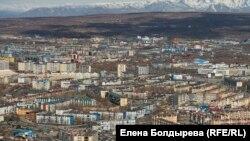 Камчатка Вулкан Корякский (архивное фото)