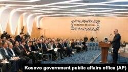 Ramush Haradinaj çıxış edir