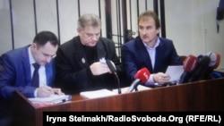 Олександр Попов у Шевченківському районному суді, архівне фото