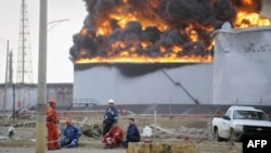 انفجار در پالایشگاه «آموآی» ونزوئلا- ۴ شهریور ۱۳۹۱