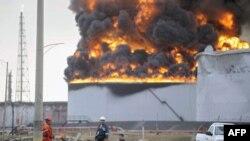 Zjarri në rafinerinë e naftës në Venezuelë, gusht, 2012
