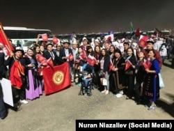 Кыргызстанцы в Катаре.