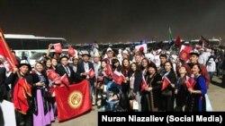 Парад дружбы в столице Катара - Дохе.