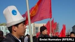 Оппозициянын Оштогу митингинен, 1-март, 2012.