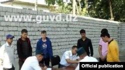Полицейские рейды в Ташкенте