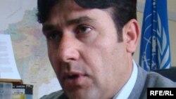 نادر فرهاد سخنگوی کمیشنری عالی سازمان ملل متحد در امور پناهندهگان در کابل