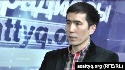 Эксперт центра политических и социальных исследований «Стратегия» Серик Бейсембаев. Алматы, 27 февраля 2015 года.