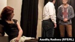 """Azerbaijan -- """"Oda"""" theatre in Baku - 2013"""