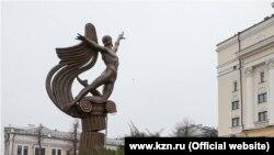 Памятник Рудольфу Нуриеву в Казани