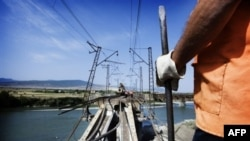 Georgian infrastructure has taken a hit