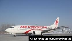Авиалайнер компании Air Kyrgyzstan