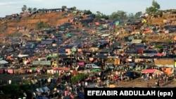 Лагерь беженцев рохинджа в Бангладеш