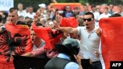 Protesta e 11 majit, në Shkup...