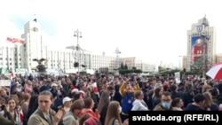 Протести во Минск, 27 август 2020