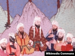 Пророк Мухаммед и ученики
