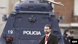 یک خودروی پلیس اسپانیا