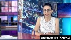 Armenia - Deputy Justice Minister Anna Vardapetian is interviewed by RFE/RL's Armenian Service, July 28, 2019.