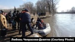 Паводок в Алтайском крае, март 2018 года