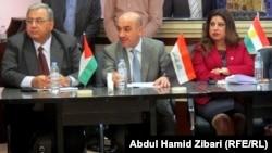 جانب من لقاء لجنة تسهيل النقل والتجارة بين العراق والأردن