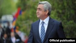 Бывший президент Армении, председатель Республиканской партии Армении Серж Саргсян (архив)