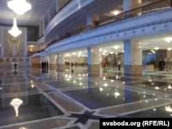Дворец Независимости в Минске, где состоялась пресс-конференция Александра Лукашенко
