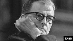 Дмитрий Шостакович, 1968. Фото Владимира Савостьянова, ТАСС