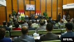 جلسة برلمان أقليم كوردستان بعد العطلة الصيفية