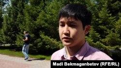 Айбол Исабеков, родственник пропавшего. Астана, 25 июля 2017 года.
