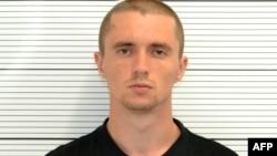 A custody photograph of Ukrainian student Pavlo Lapshyn (undated)