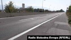 Автопат , делница Тетово -Гостивар