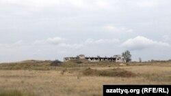 Бывшая урановая шахта в Калачах, Казахстан