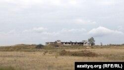 Калачи маңындағы бұрынғы уран кеніші орыны. 7 қыркүйек 2014 жыл.