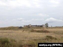 Калачи маңындағы бұрынғы уран кенішінің орыны. Ақмола облысы, 7 қыркүйек 2014 жыл.