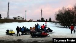 Катання на снігоходах на Ай-Петрі в Ялтинському заповіднику, фото надане екологами