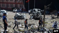 Вчерашниот напад во Елазиг.