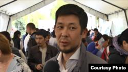 Нур Копамбай, житель города Алматы. 21 апреля 2017 года.