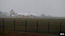 Тот самый самолет в аэропорту Будапешта
